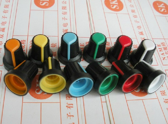 Бесплатная доставка! 500 шт. регулятор потенциометра 148 регулятор для усилителя (цвета сердца) 15 17 мм