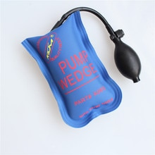 Airbag à cale de pompe KLOM bleu 10p   Nouveau pour les outils de serrurier, cale dair de petite taille, outil de cadenas à bosse