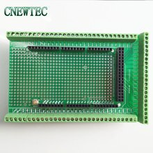 Double-side PCB Prototype Screw Terminal Block Shield Board Kit For MEGA-2560 Mega 2560 Mega2560  R3 BTE16-06 Welding Version