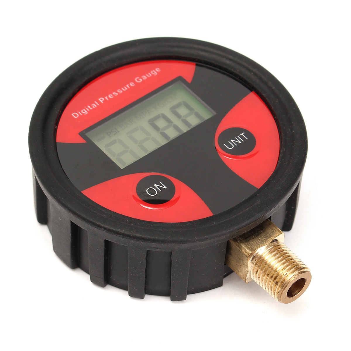 0-200 фунтов/кв. дюйм для автомобиля грузовика мотоцикла Авто Шины Датчик давления воздуха в шинах циферблат метр тестер медь + резина цифровой датчик давления в шинах Инструмент