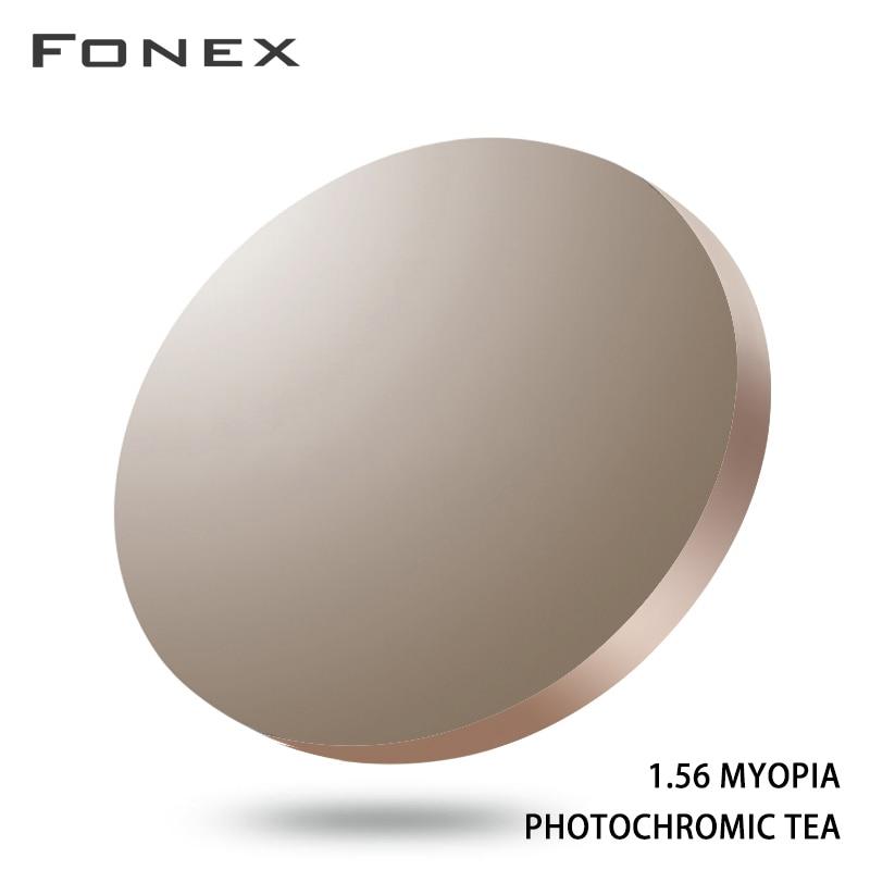 1.56 1.61 1.67 Anti Blue Light Rays Photochromic Prescription CR-39 Resin Aspheric Glasses Lenses My