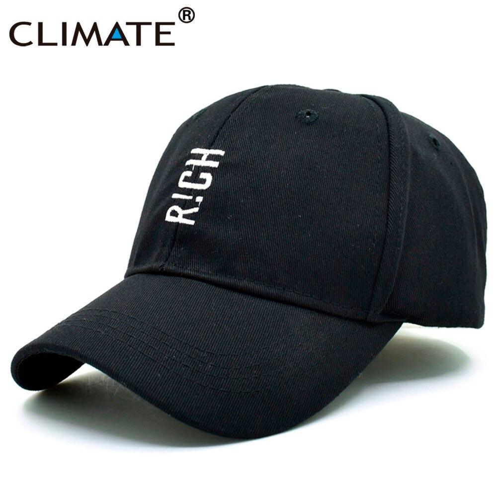 Nuevas gorras de béisbol para hombres y mujeres CLIMATE RICH LifeBaseball, geniales gorras negras para papá, divertidas gorras de béisbol de algodón para jóvenes, gorras Snapback para hombres y mujeres