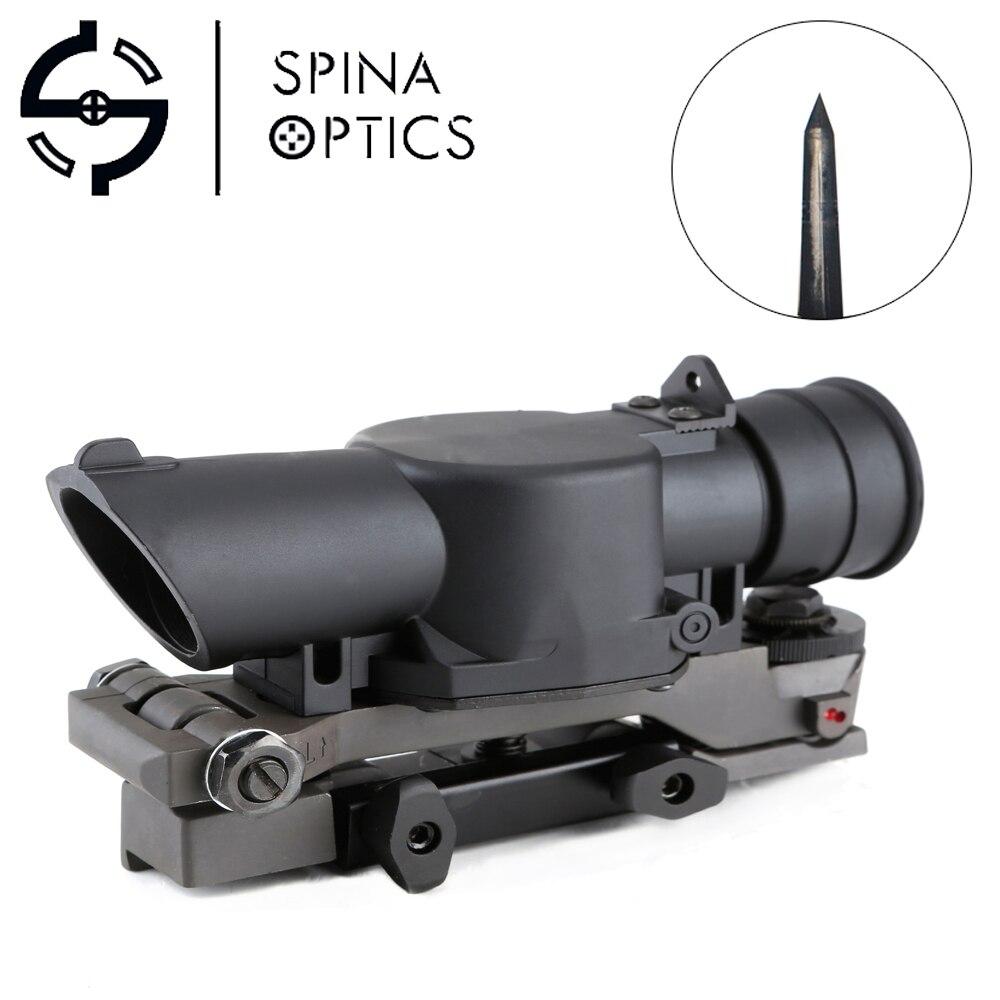 SPINA optique L85 Type de lunette de visée tactique 4X portée de fusil de vue fixation rapide weaverer pour la chasse en plein air