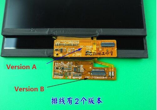"""Pantalla LCD de 8 """", 31pin, JYS080007CIP31L21A05, para tableta Teclast X80 Plus de repuesto"""