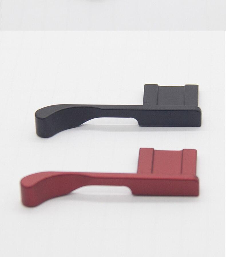 Empuñadura de pulgar de aluminio para Fuji X100F X100T FUJIFILM X100F cubierta de zapata caliente