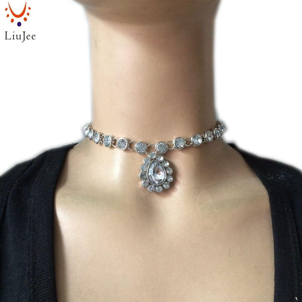Impresionante collar gargantilla de Bollywood indio de Diamante Kundan de Color plateado, NK-195 de Boda nupcial