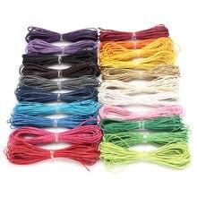 10 meter 1MM DIY Seil Gewachste Twisted Gewachste Baumwolle Schnur String Gewinde Linie ein Armband