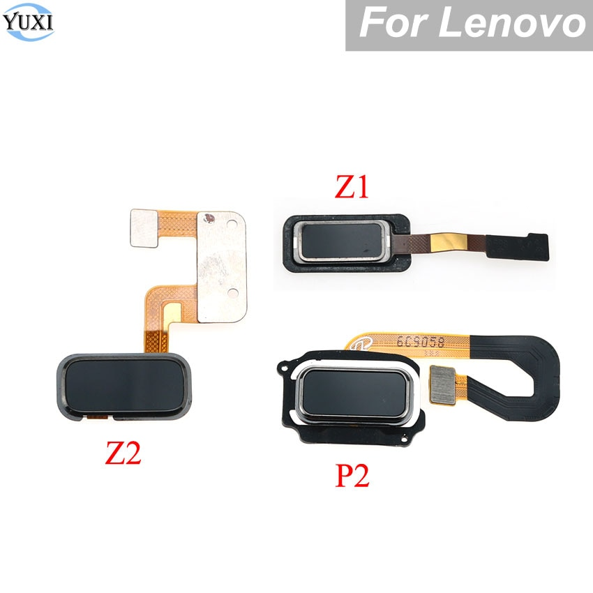 YuXi For Lenovo ZUK Z1 Z2 Vibe P2 P2C72 P2A42 Fingerprint Sensor Scanner Lock Touch ID Home Button Return keypads Flex Cable