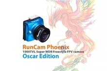 RunCam Phoenix Oscar Edition 1000tvl 1/3 Super 120dB WDR Mini FPV Camera Support OSD FC Control for RC Racing Drone - 2.1mm