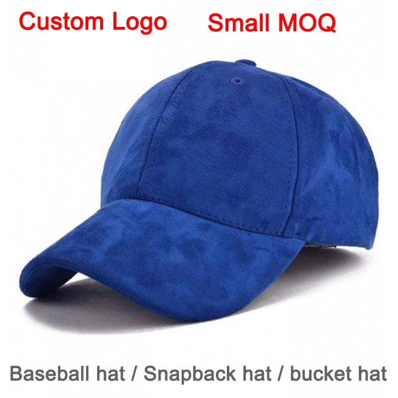 Custom-Made DIY Design Different Number Team Name Customize Color Sizable Fastener Tape Tennis Sun Cap Suede Custom Baseball Hat