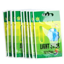 50PCS Portable Luminous Fishing Fluorescent Lightstick Light Night Luminous Float Clip On Dark Glow Fishing supplies 25MM/37MM