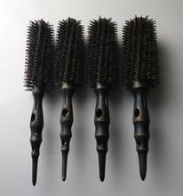 Brosse en fer à repasser antistatique haute résistance à la chaleur brosse en bois de carbone Pro Air & chaleur brosse à cheveux GIC-HB542 (4 pièces/ensemble) livraison gratuite