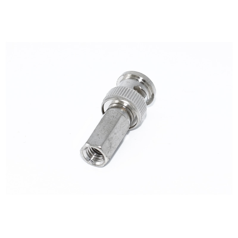 10PCS BNC Male Connectors Cable Adapters for RG59 Coaxial Cable BNC1A2 C63 enlarge