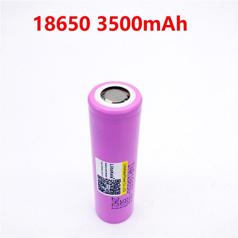 Liitokala 3500 мАч 13A разрядка INR18650 35E INR18650-35E 18650 литий-ионная аккумуляторная батарея 3,7 В