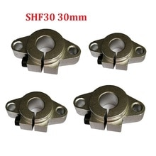 SHF30 Support darbre de roulement linéaire 30mm   Pour tige support darbre rond, bricolage XYZ Table 4 pièces