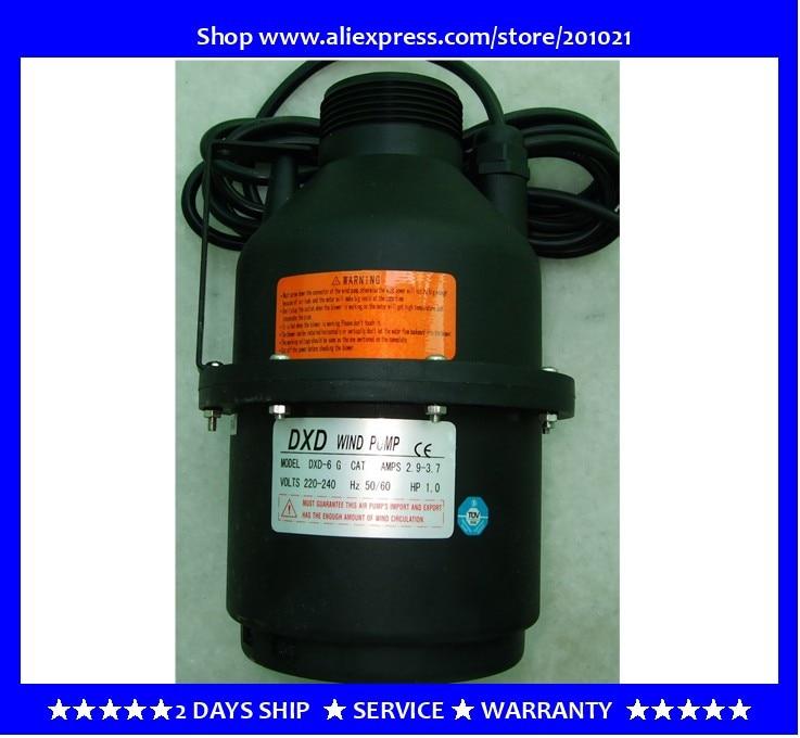 DXD-6 G CAT AMPS 2,9-3,7 1.0HP soplador de aire/bomba de viento reemplazo DXD-6 C 550W 0.75HP modelo