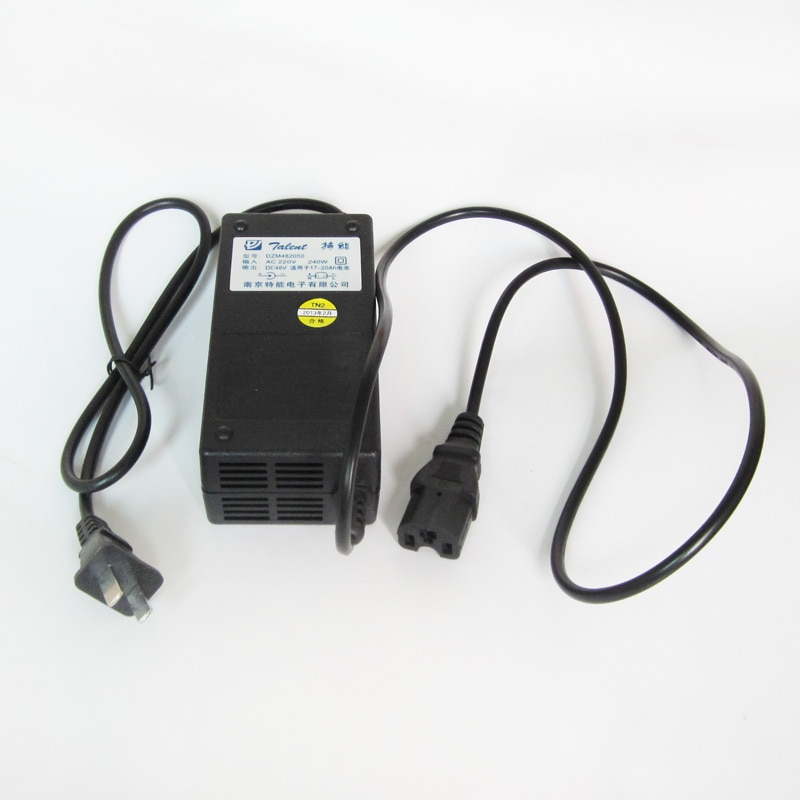 48V 2.5A Charger Power Supply 48V17-20AH Lead Acid Battery Charger Electric Motorcycle Tricycle Scooter Bicycle Accessories