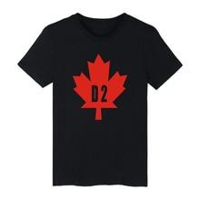 Nouveau été Canada feuille dérable T-shirts mode Hip Hop hommes femmes T-shirts T-Shirt décontracté chemise à manches courtes Sport T-shirt vêtements haut