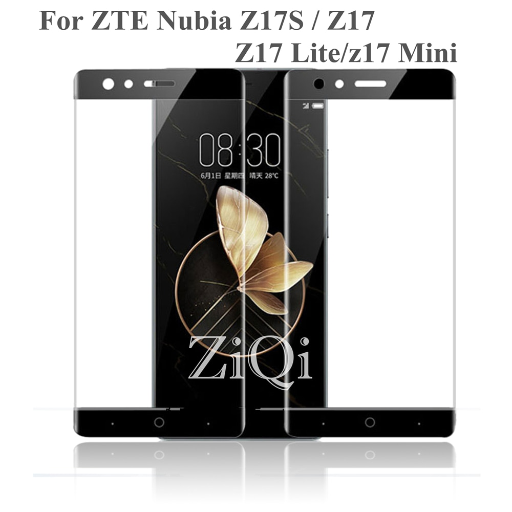 2 шт. Nubia Z17 Защита экрана для ZTE Nubia Z17 Mini Lite MiniS крышка Изогнутые части закаленное стекло для ZTE Z17S Z17 MiniS