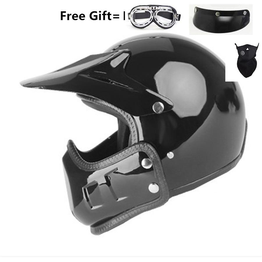 Moto Cruz casco moto vintage moto rcycle casco jet capacetes de moto ciclista fuera de la carretera cascos párr moto thompson modular