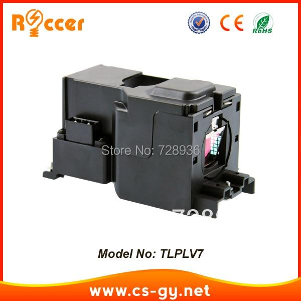 متوافق العارض مصباح SHP98 TLPLV7 لتوشيبا TDP-S35 TDP-SC35 TDP-SC35U الخ