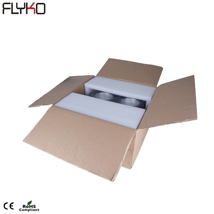 Envío gratis 4 ojos de alta potencia blanco cálido 4*100w COB LED Audience Blinder luces