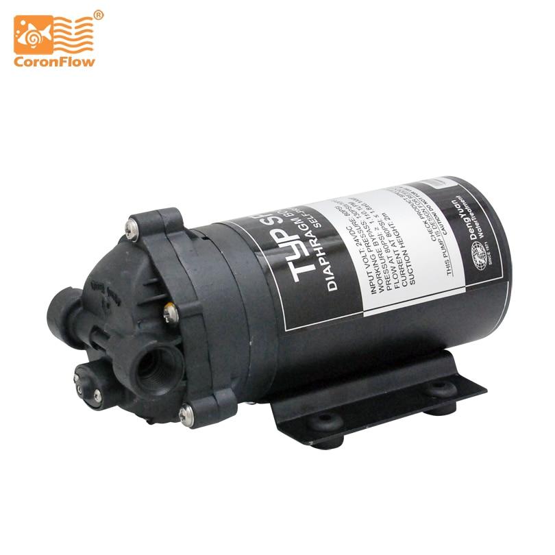 Bomba de refuerzo de agua Coronwater 100 gpd autocebante RO en sistema de ósmosis inversa para pozo, tanque de almacenamiento SP2600