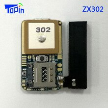 Topin ZX302-localisateur GPS Anti perte   Plus petit localisateur GPRS GSM LBS, avec puce IOT APP Android IOS, 50 pièces/lot, 31*18mm