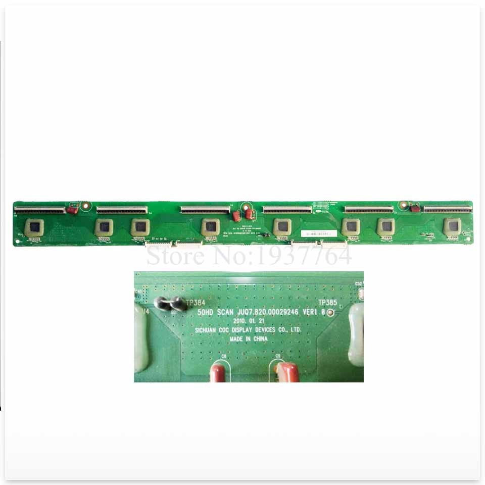 لوحة عازلة عالية الجودة للوحة PT50638X JUQ7.820.00029246 VER1.0, جزء عمل جيد 95% جديد