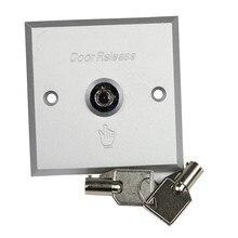 Serrure de commutateur de secours dalliage daluminium avec la libération de porte de bouton poussoir de sortie de système de contrôle daccès de porte principale