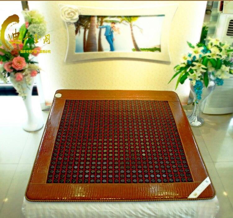2015 nova barato elétrica Mat Jade aquecimento Sauna massageador para cama de colchão Jade colchão 1.0 X 1.9 M frete grátis