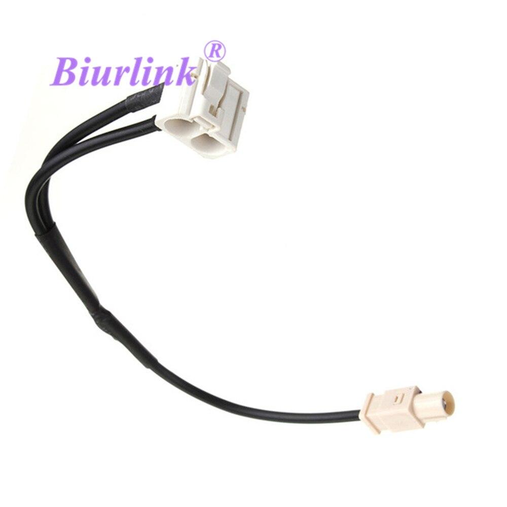 Адаптер антенного кабеля Biurlink для RCD510 RCD 510 Passat Golf Tiguan Jetta, 1 шт.