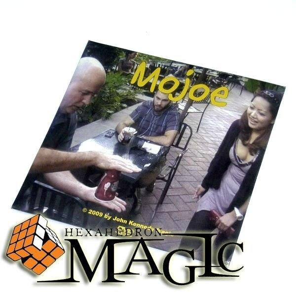 Mojoe café fundido truco de magia/Primer plano calle truco de magia producto/venta al por mayor/envío gratis