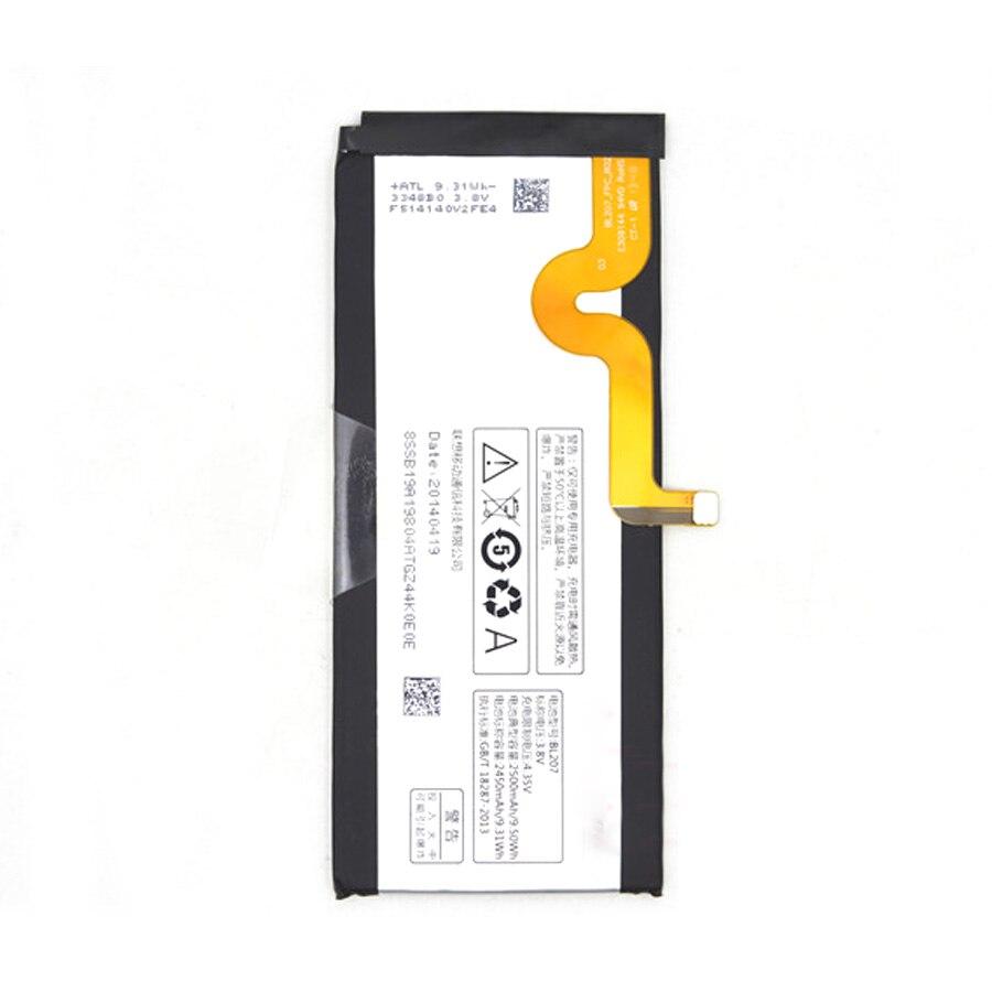 100% nueva batería BL207 de 2500mAh para Lenovo K900 K 900 teléfono móvil + número de seguimiento