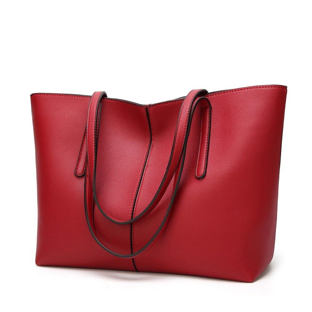 Genuine Leather Handbag Luxury Design Women's Casual Tote Purse Fashion Shoulder Handbag Ladies Large Capacity Shopping New C826
