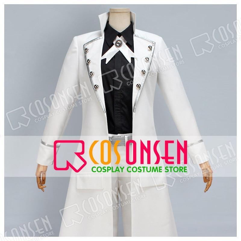 COSPLAYONSEN K Return of kings Yashiro Isana disfraz Cosplay blanco negro todos tamaños