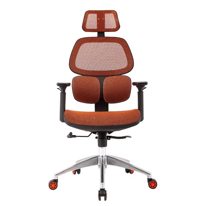 Cadeira reclinável ergonômica de escritório, cadeira reclinável de elevação giratória, ergonômica de pessoa, cadeira de escritório
