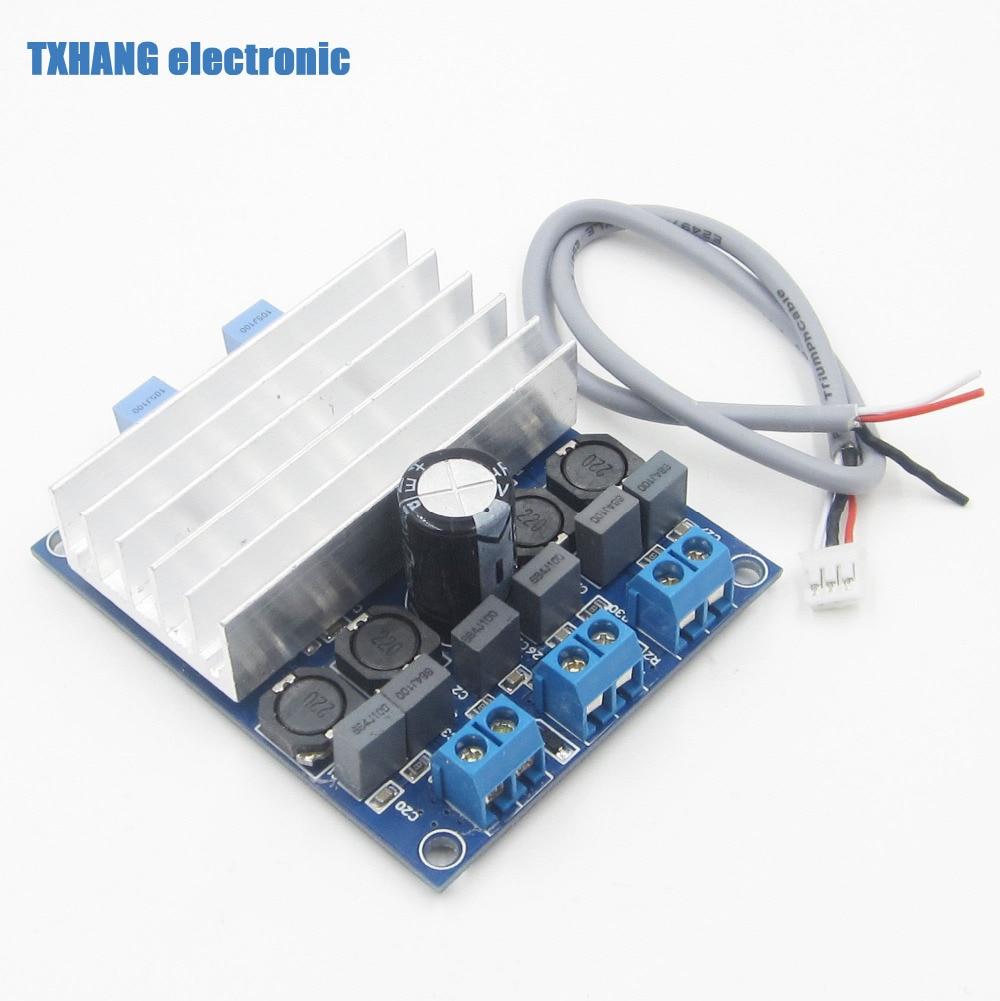 TDA7492 2 x 50W D Class High-Power Digital Amplifier Board AMP Board+ Radiator
