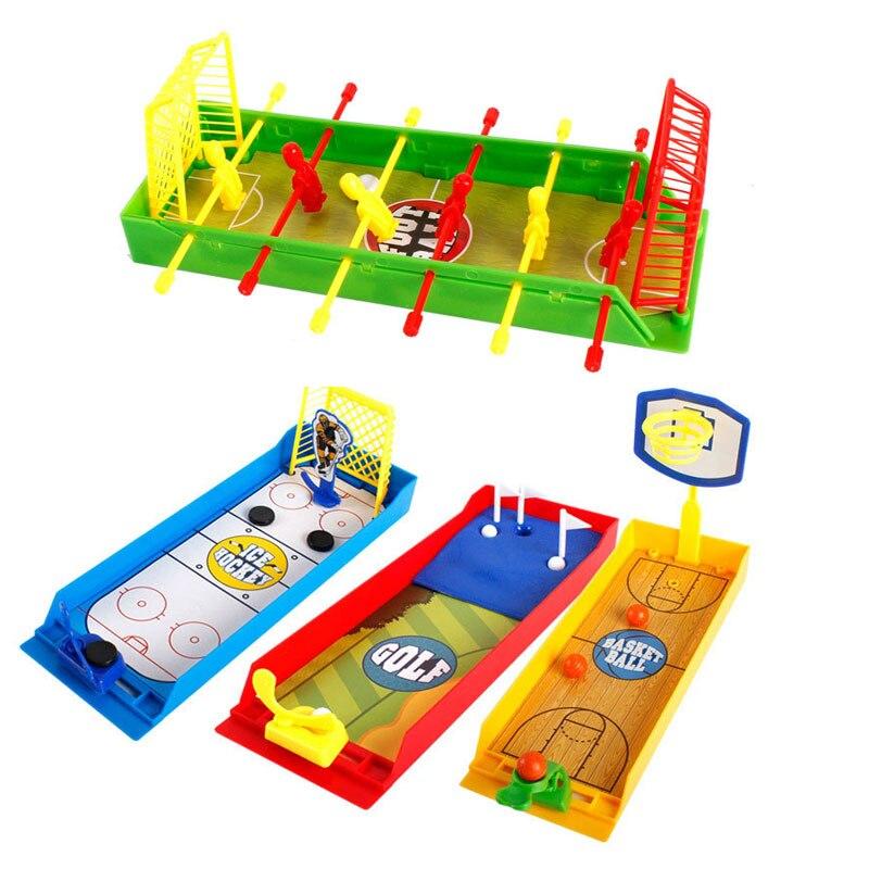 Мини семья родитель-ребенок игрушка футбол/Хоккей/Баскетбол/мяч для гольфа игра
