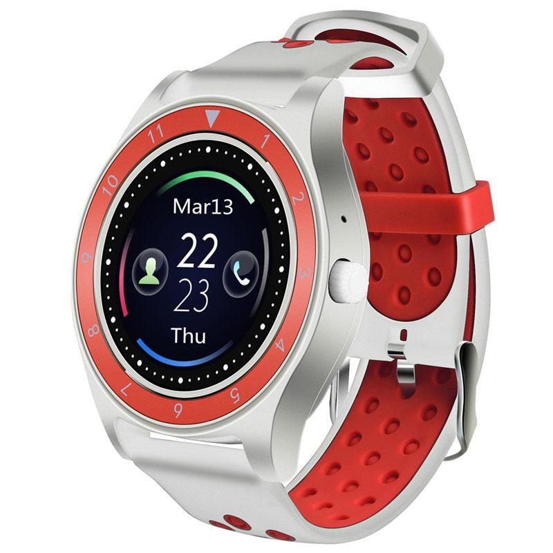 Deportes reloj inteligente Monitor de sueño podómetro alarma reloj Android Smartwatch soporte tarjeta SIM MP3 smartwatch