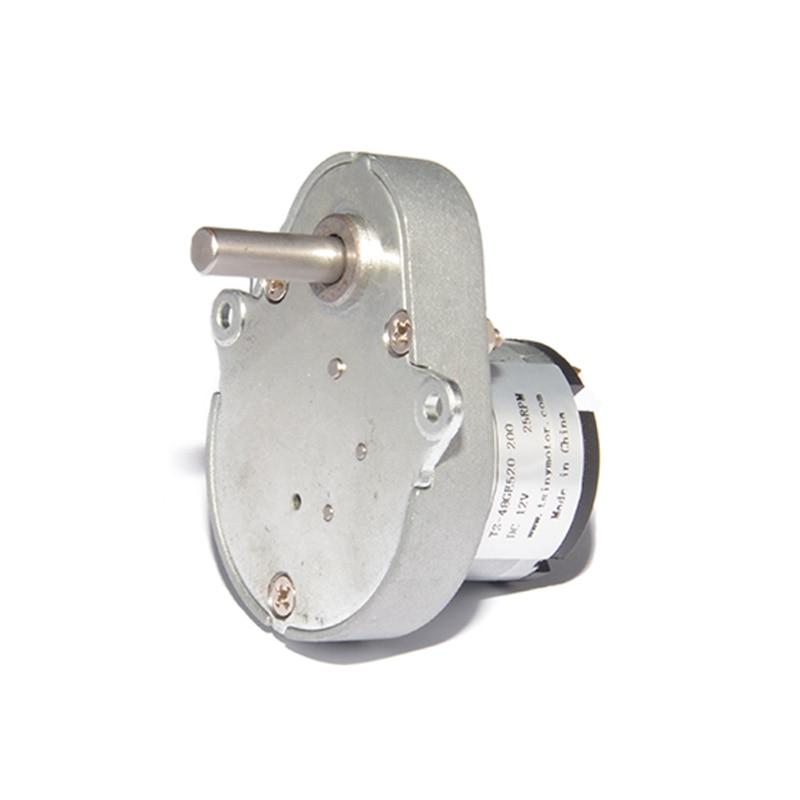 Мусорный бак редуктор 48GE520 мотор 12В 6,5/25rpm автоматический маджонг Настольный мотор