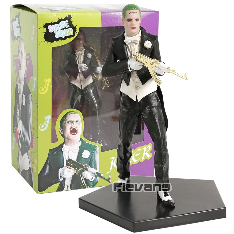 Iron Studios suicidio escuadrón Joker estatua de PVC figura juguete de modelos coleccionables