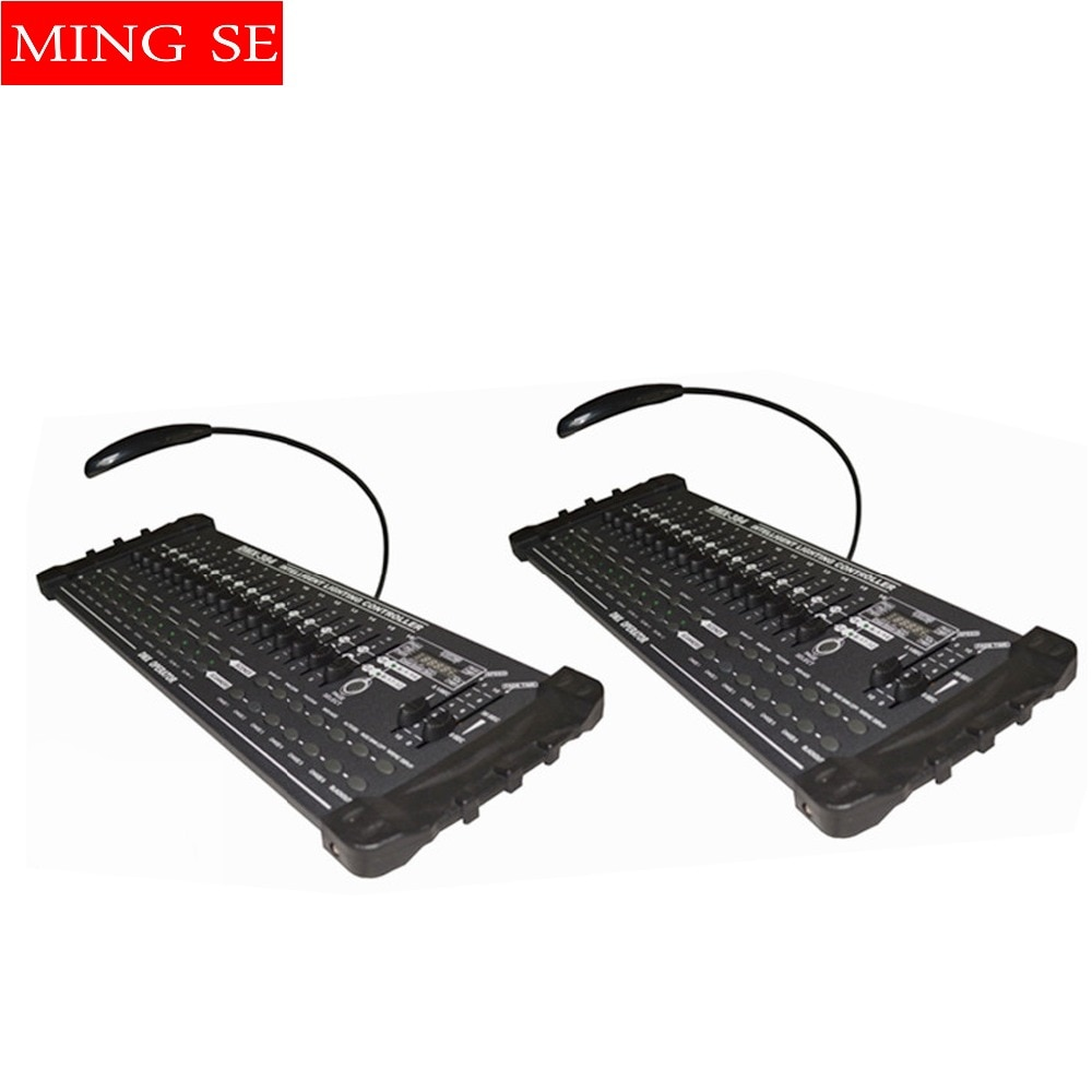 2 قطعة/السلع DMX 384 تحكم تحكم تتحرك رئيس شعاع ضوء وحدة التحكم DJ 512 dmx تحكم المعدات