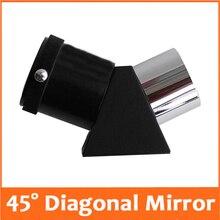 45 degree 1.25inches Erecting Prism Astronomical Telescope Eyepiece Zenith Diagonal Reflect Mirror