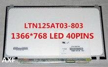 Pour 350U2B-A04 NP400B2B NP350U2A A01 Origina LTN125AT03 LTN125AT03-803 LTN125AT03-801 écran lcd dordinateur portable Matrice 12.5