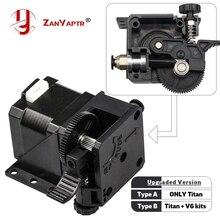 Kits dextrudeuse de Titan dimprimante 3D de ZANYAPTR pour le bureau FDM Reprap MK8 Kossel j-head bowden Pruse i3 support de montage