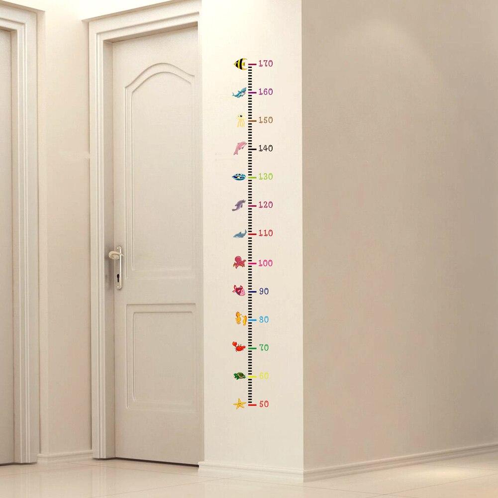 Animais marinhos adesivos de parede para crianças quarto decoração da sua casa decalques da arte da parede