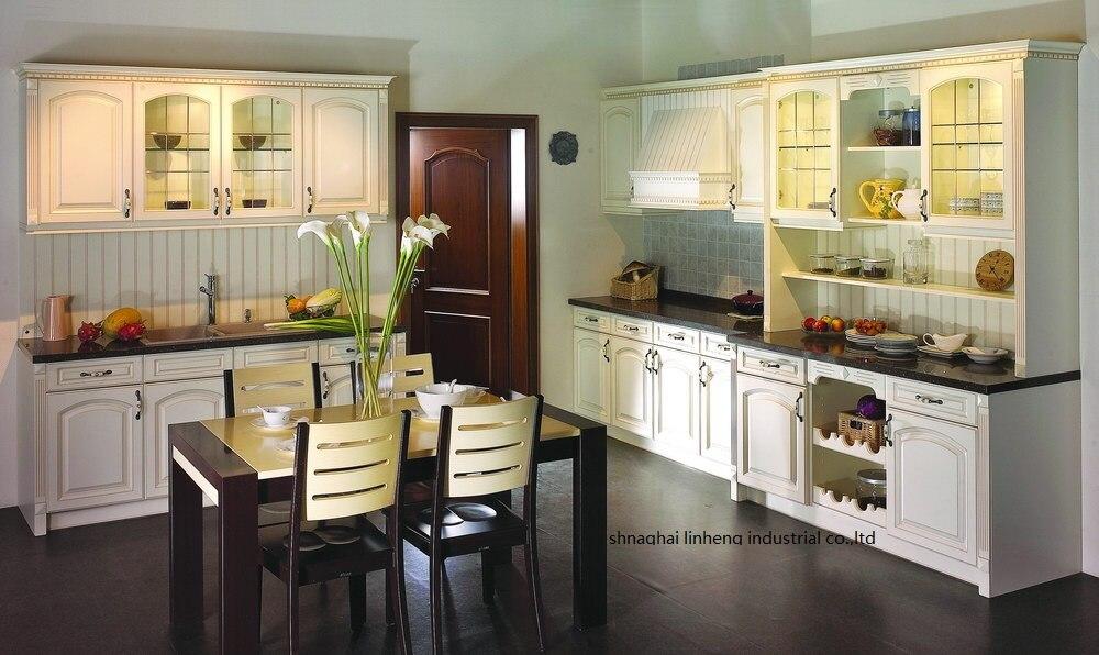 PVC/vinyl kitchen cabinet(LH-PV057) pvc vinyl kitchen cabinet lh pv032