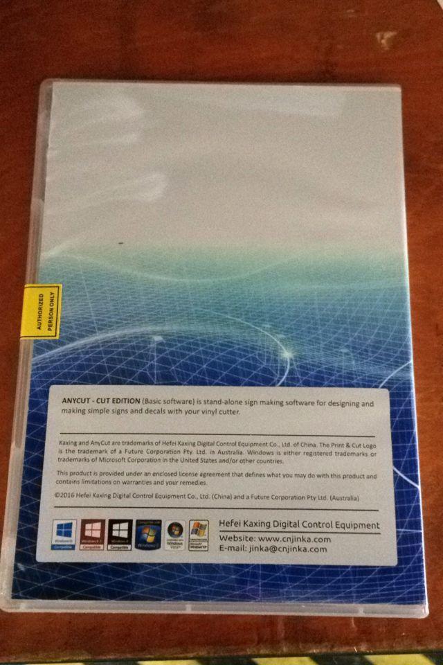 Software de plotter Anycut para software windows 10 máquina jinka
