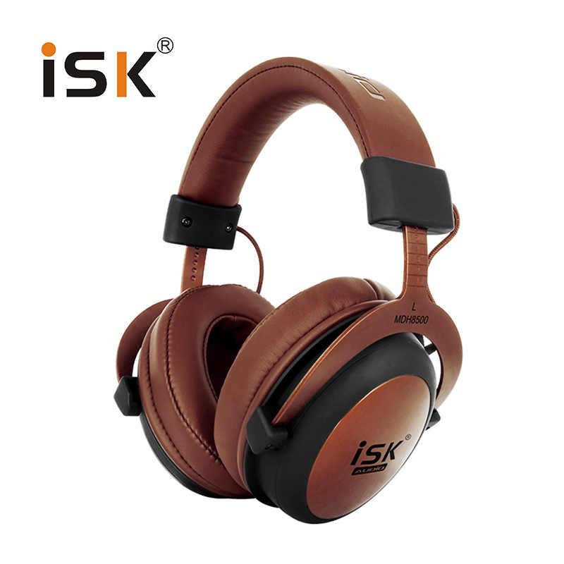 Isk Mdh8500 Genuine Headphone Hifi Stereo Fully Enclosed Dynamic Earphone Professional Studio Monitor Headphones Hifi Dj Headset Aliexpress